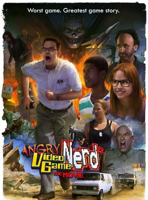 Poster of Angry Video Game Nerd: The Movie