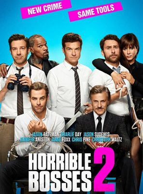Poster of Horrible Bosses 2