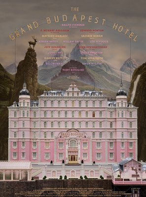 Poster of The Grand Budapest Hotel