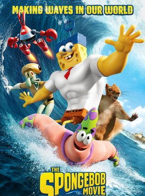 Poster of The SpongeBob Movie: Sponge Out of Water