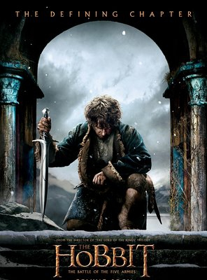 Poster of The Hobbit: The Battle of the Five Armies