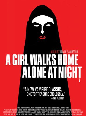 Poster of A Girl Walks Home Alone at Night