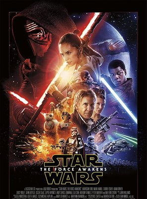 Poster of Star Wars: Episode VII - The Force Awakens
