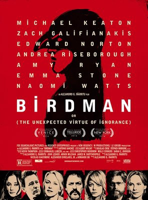 Poster of Birdman or (The Unexpected Virtue of Ignorance)
