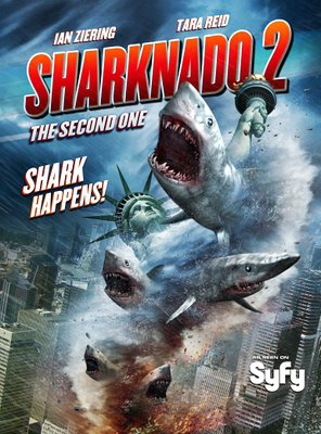 Poster of Sharknado 2: The Second One