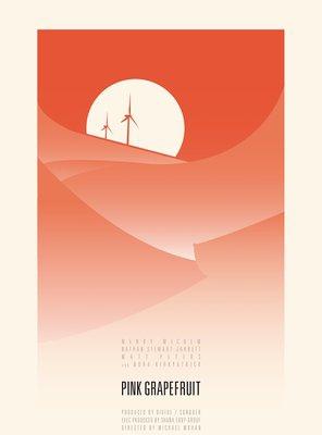 Poster of Pink Grapefruit